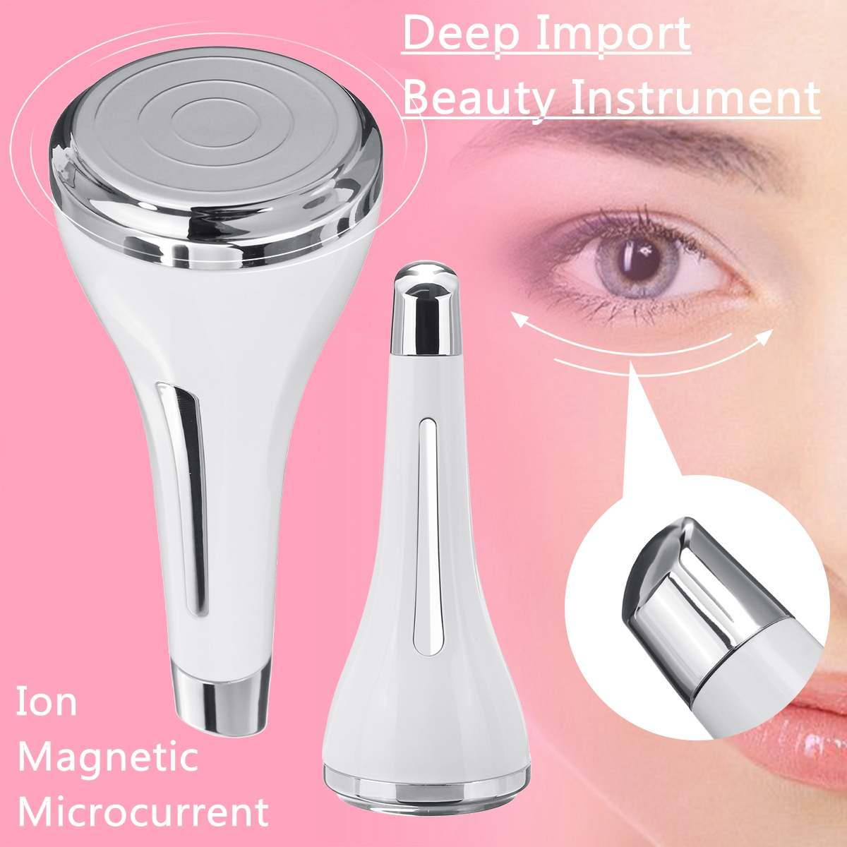 Eliminate Wrinkles Massager Beautiful Face Massage Instrument Whitening Electric Import Device Skin Care Toxin Export Apparatus