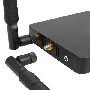 Image 4 - UGOOS AM6 בתוספת טלוויזיה תיבת אנדרואיד 9.0 טלוויזיה חכמה תיבת AM6 פרו S922X DDR4 4GB RAM 32GB כפולה wiFi 1000M BT5.0 4K מדיה נגן AM6 2G 16G