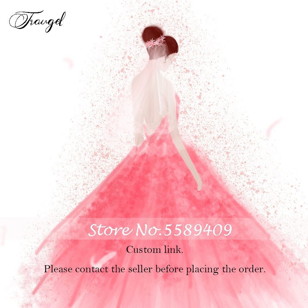 Traugel Wedding-Dress Personalized Custom Fee-Link Special-Request Any Handmade