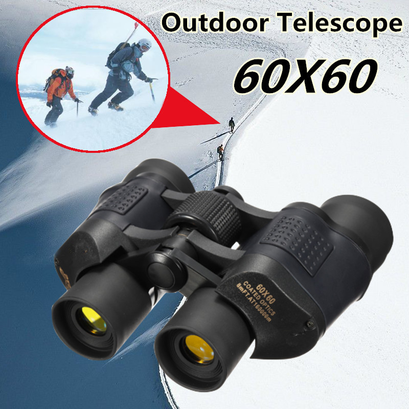 60x60 3000M Telescope Folding Binoculars High Definition Night Vision For Outdoor Bird Watching Travelling Hunting Camping