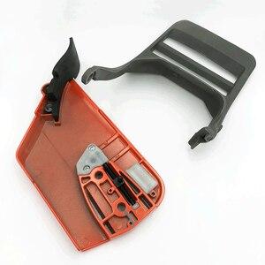 Image 4 - Capa de embreagem para roda de caça, peça de proteção frontal tensor de alavanca de freio para husqvarna 365 371 372 372xp 362