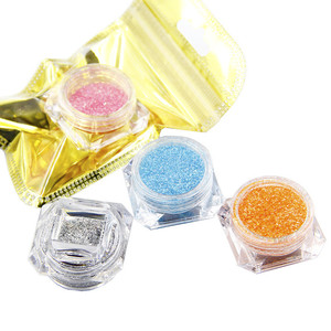 4.5g Diamond Bottled Flash Powder Glue for Slime Super Light Clay DIY Nail Art Molds and Decoration Materials Crystal Mud Filler(China)