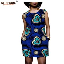 Afrcian style dresses for women new batik fabrics robe africaine bazin riche african clothing maxi dress lady A722522
