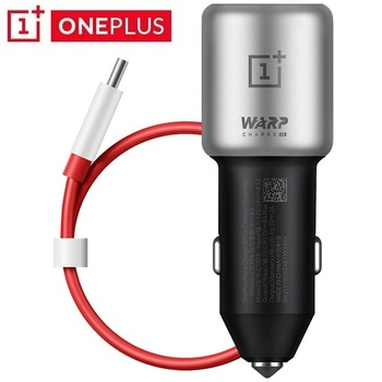 origina Oneplus 8 pro Car Charger 30W 5V=6A max 6A fast car charger adapter 3.0 usb type-c cable for one plus 8 7 7T 6T 6 5T 5