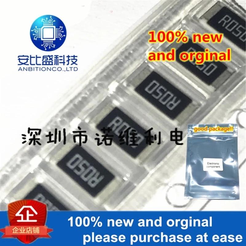 10pcs 100% New And Orginal WSL2010R0500FEA 2010 0.05R 1% 1---2W DALE R05F In Stock