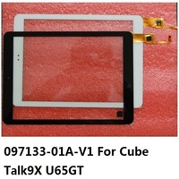 9.7 inch 097133 01A V1 Touch Screen For Cube Talk9X U65GT 32GB Black Talk 9X Digitizer Panel Glass For DEXP URSUS 9X 3g