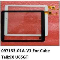 9.7 polegada 097133-01a-v1 tela de toque para cubo talk9x u65gt 32 gb preto falar 9x digitador painel vidro para dexp ursus 9x3g