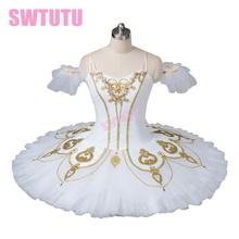white professional ballet tutu for girls red classical nutcracker costumes,tutu dance competiton BT8936