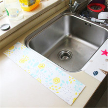 2019 new 8*140 kitchen self-adhesive sink waterproof stickers Washing table toilet