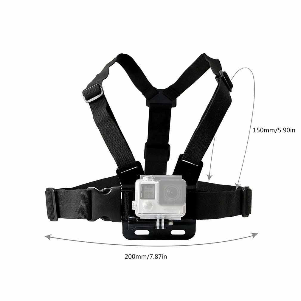 Нагрудный ремень крепления ремня для экшн-Камеры Gopro Hero 7/6/5/4 K экшн Камера нагрудный держатель для GoPro SJCAM SJ4000 Спортивная водоотталкивающая Камера Gopro исправить