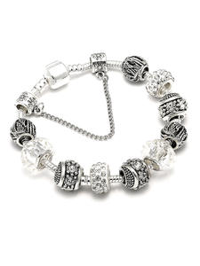 Charm Bracelet Jewelry Zircon-Ball Making-Accessories Gifts Hot-Sale Women for Fit Brand