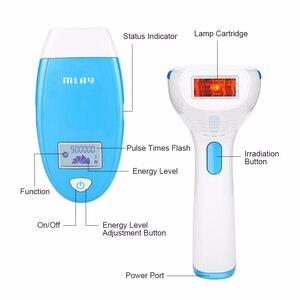 Image 2 - MLAY 500000 çekim fabrika ücretsiz kargo! MLAY IPL ev lazer pigmentasyon aparatı 3 lamba ile otomatik modu flash