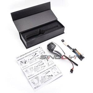 Image 5 - Palanca de cambio de marchas con luz LED, palanca de cambios para BMW 1 3 5 6 Series E90 E60 E46 2D 4D E39 E53 E92 E87 E93 E83 X3 E89, accesorios automáticos