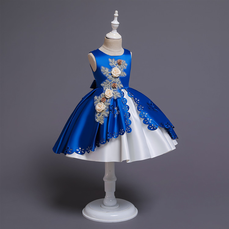 Halloween Clothing 2019 New Style GIRL'S Gown Girls' Princess Skirt Small Host Piano Costume