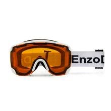 EnzoDate Ski Snow Goggles Dual Lens Anit Fog UV Protection Winter Sports Visor Snowboard Sunglasses