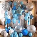 36 дюймов серебро воздушный шар