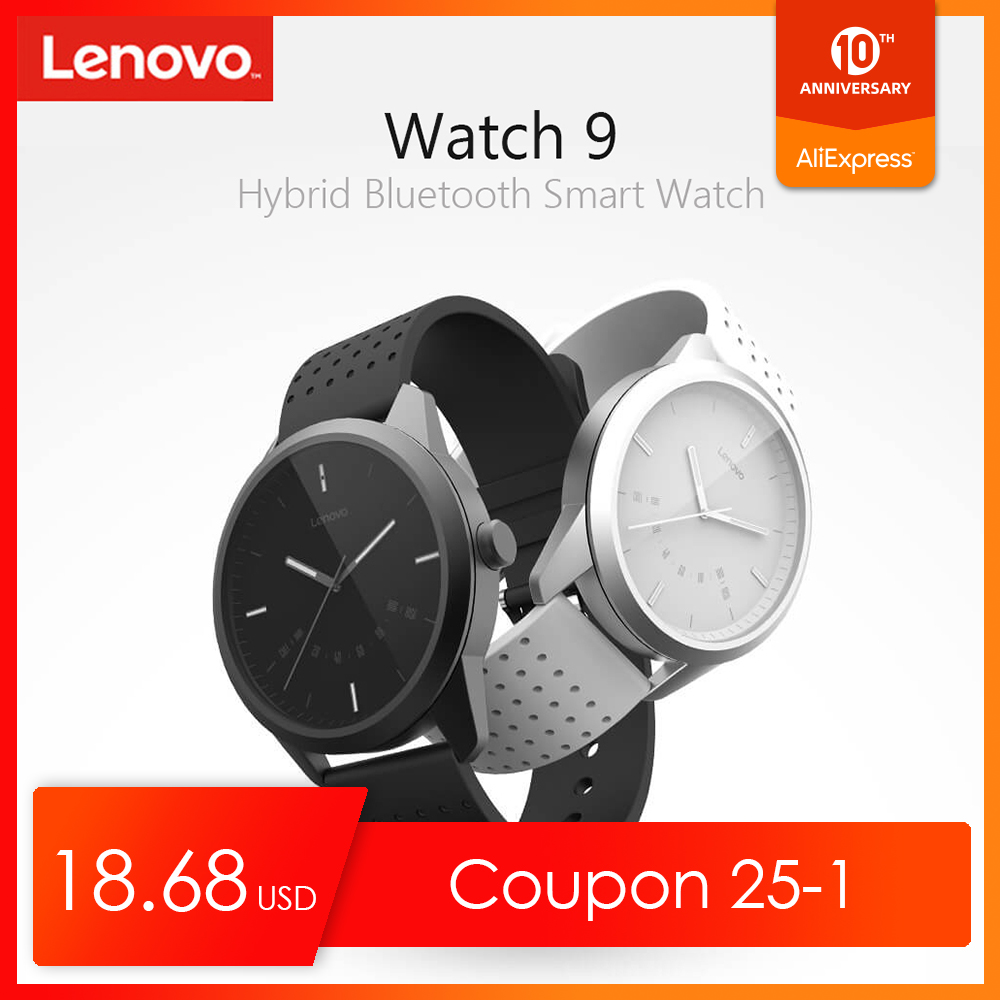 Original Lenovo Watch 9 Smart Watch Waterproof Bluetooth Smartwatch Sapphire Heart Rate Monitor Fitness Tracker IOS Android