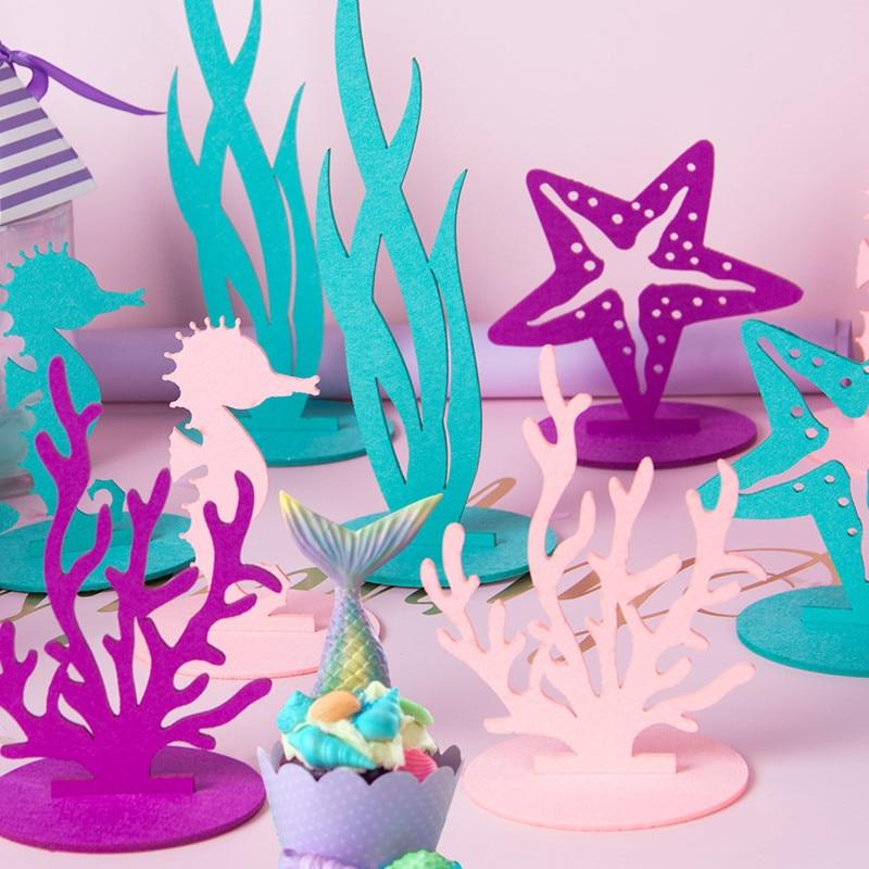 Wedding Decor Paper 100pcs//bags Scatter Seahorse Mermaid Confetti Starfish