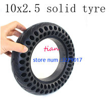 Neumático sólido de 10 pulgadas para patinete eléctrico, llanta inflable e interior de 10x2,50 cm, envío gratis