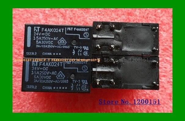 F4AK024T 24VDC F.T 5A Relay DIP-6