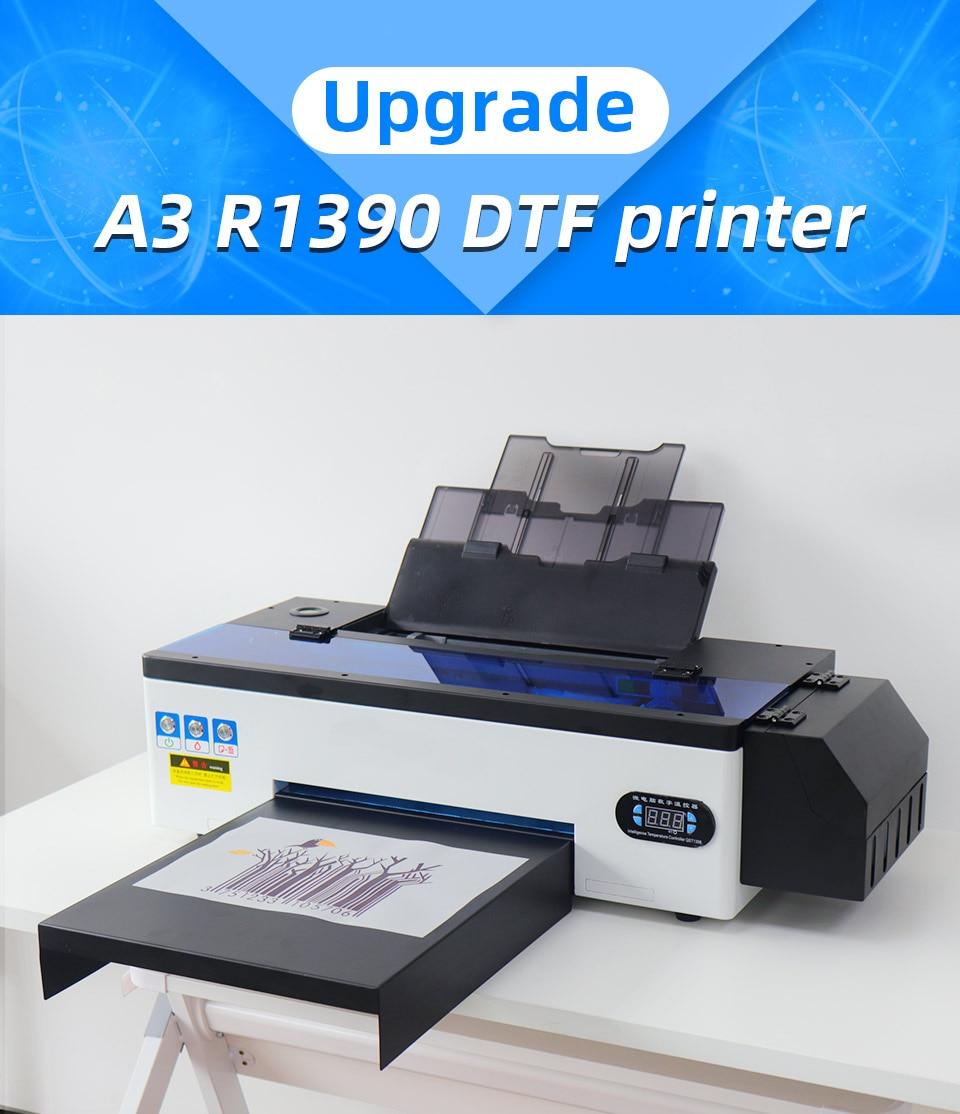 Impressora de dtf a3 para epson r1390