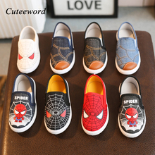 Children Canvas Shoes for Boys and Girls Casual Shoes Cartoo
