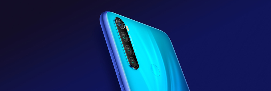"New Global ROM Xiaomi Redmi Note 8 4GB 64GB 48MP Quad Camera Smartphone Snapdragon 665 Octa Core 6.3"" FHD Screen 4000mAh"