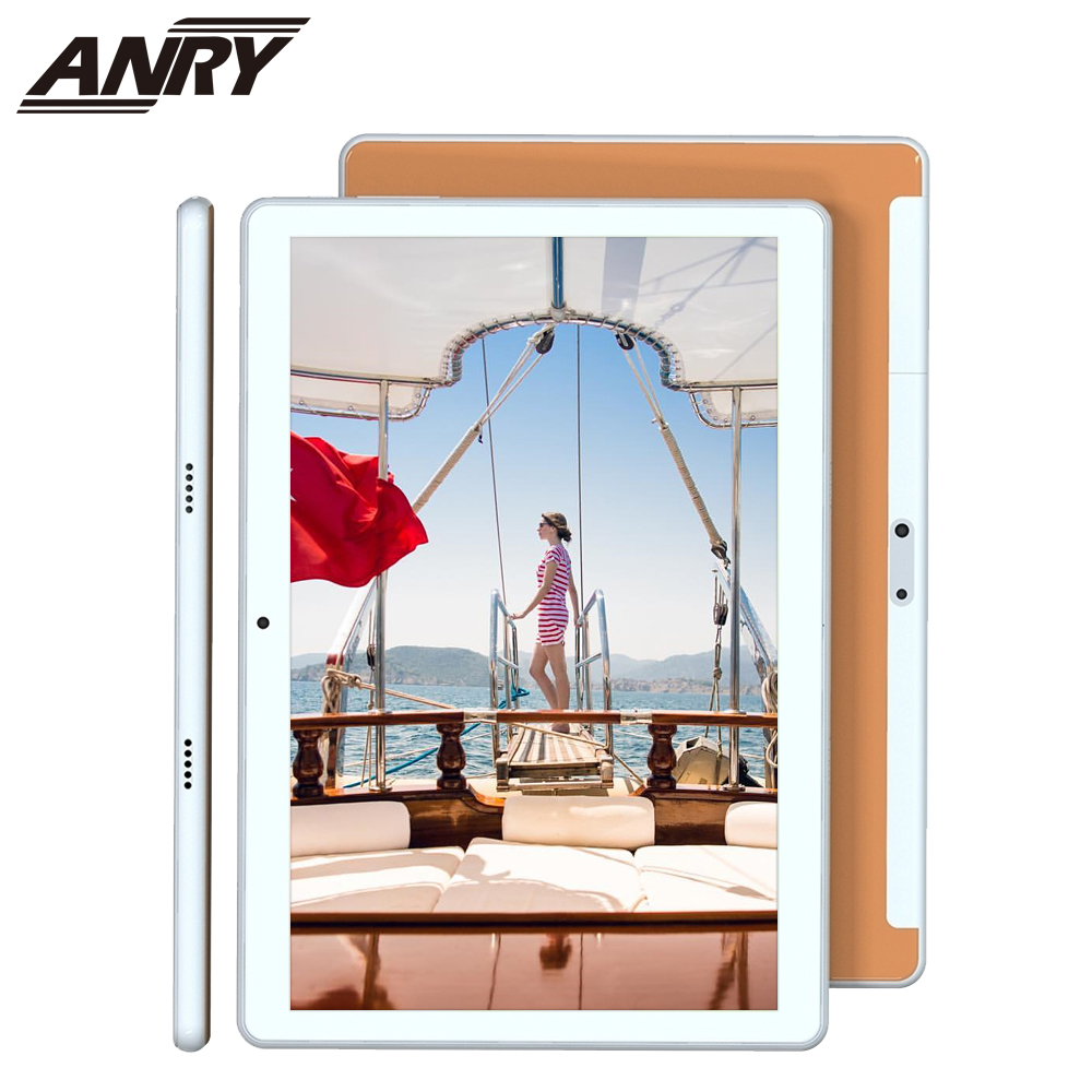 ANRY 4G Tablet 10 Inch New Design Tablet Pc Android 8.1 Quad Core 4G LTE Phone Call Dual SIM WiFi Tablet