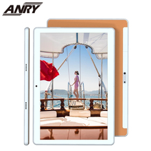 ANRY 4G Tablet 10 Inch New Design Tablet Pc Android 8.1 Quad Core 4G LTE Phone Call Dual SIM WiFi Tablet anry 10 1 inch 8 core 4g 64g android tablet pc sim dual camera 8 0mp ips mtk6797 4g wifi call phone tablet wifi gps bluetooth
