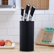 Ножи подставка держатель мульти-функциональный держатель для Ножи Пластик Ножи блок стеллаж для выставки товаров Кухня Ножи Органайзер, кухонные аксессуары инструменты