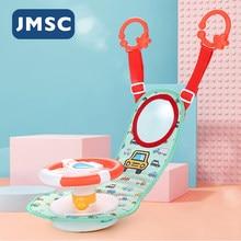 JMSC для малышей и детей постарше электро Моделирование игрушка с рулевым колесом вождения интерактивные музыкальные образовательные для за...