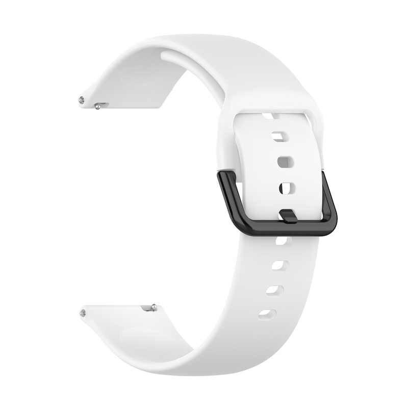 Для samsung Active/2 для LG TICWATCH 2 для huawei Watch2 официальные модели силиконовый ремешок L Размеры Браслет замена для Garmin