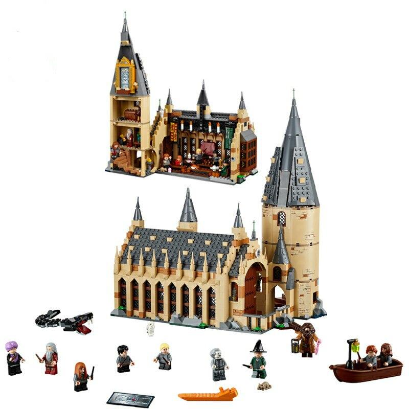 Harri Potter Great Hall Building Blocks Brick Educational Toy Compatible Potter 75954