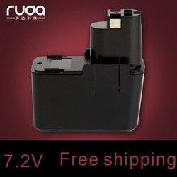 Dla BOSCH BOS 7.2VB 1300 mAh/1.3Ah akumulator na narzędzia Ni CD  2607335031 2607335032  2607335033 2607335073  2607335153