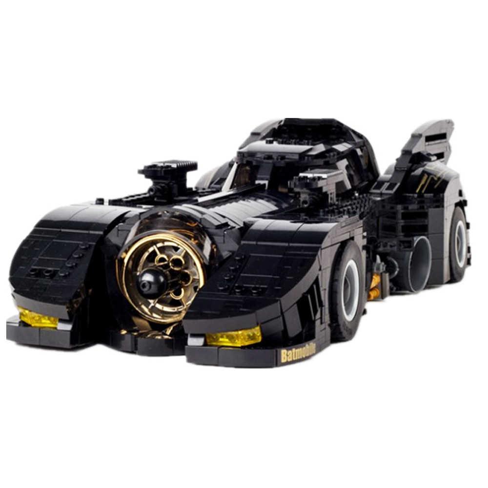 Decool 7144 Technic, новейший комплект совместимых автомобилей с бэтмобилем Legoing, объемные блоки, MOC-15506 кубики DC Super Heroes
