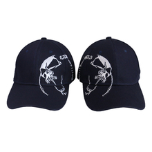 High quality unisex 100% cotton baseball cap embroidery snap back fashion sports hats men and women street ghost head hip hop hat winter men and women high quality labeling pure cotton baseball cap curved eaves fashion hat