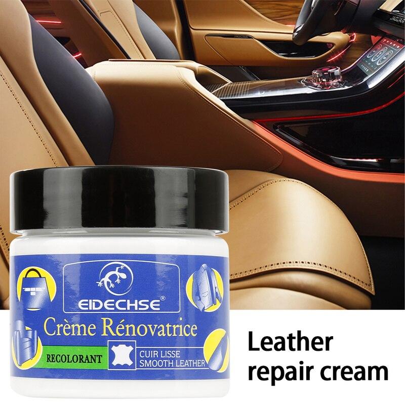 Leather Restoration Kit For Car Seat Eidechse Car Seat Repair Leather Sofa Scratch Holes Crepe Tears Liquid Skin Repair Cream