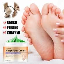 Novo 1pc creme de pé para pés rachados secos natural herbal anti-crack anti envelhecimento hidratação profunda esfoliar anti rugas cuidados com a pele