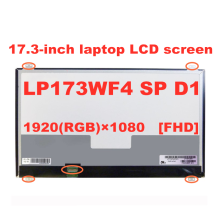 Original 17,3-zoll FHD LP173WF4 SPD1 LP173WF4 \u0028SP\u0029 \u0028D1\u0029 IPS 1920*1080 30pins eDP laptop lcd-bildschirm