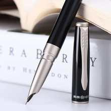 Hero 1511 Fountain Pen Financial Ink Pen EF Nib Converter Filler Business Stationery Office school supplies Writing Pens Gift