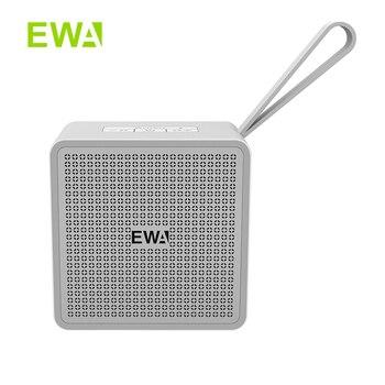 EWA-Altavoces TWS cuadrados De Metal con Bluetooth, altavoz pequeño portátil, cuerpo De...
