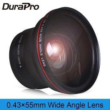 55mm 0.43x profesional HD lente gran angular (w/Macro porción) para Sony Alpha...