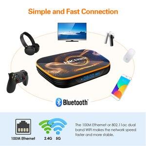 Image 5 - TEKASMI HK1 RBOX Smart TV Box Android 10 Rockchip RK3318 4GB 64GB 32GB H.265 2.4G 5GHz Wifi Bluetooth 4K Set TOP BOX 2GB 16GB