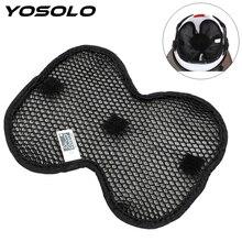 YOSOLO 3D Cellular Network Helmet Inner Pad Breathable Helmet