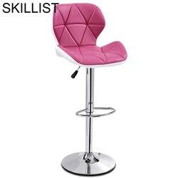 Tipos wyroby pończosznicze Taburete La Barra Sedie taburet De Industriel Sedia Banqueta skórzany stołek nowoczesny Silla Cadeira krzesło barowe na