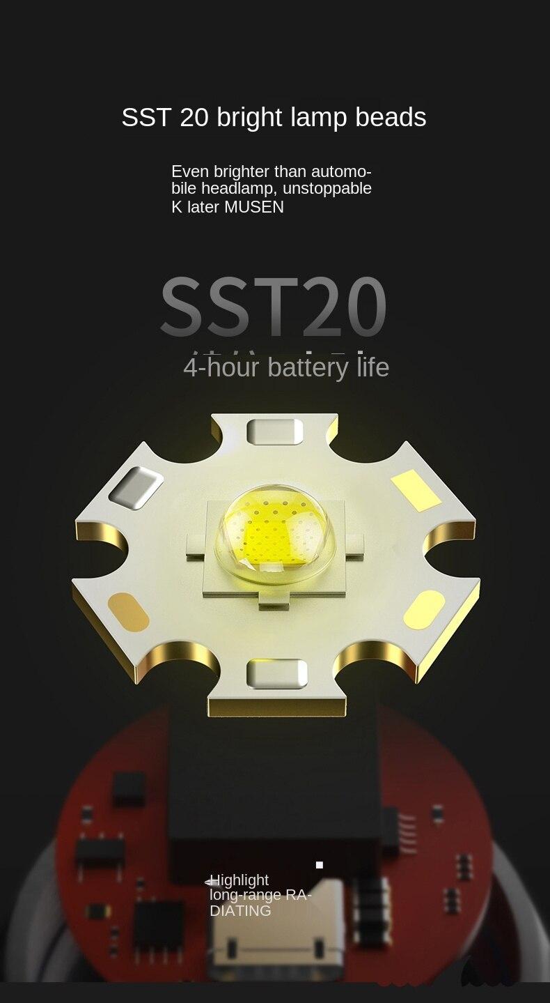 leve luz dura led mini lanterna foco