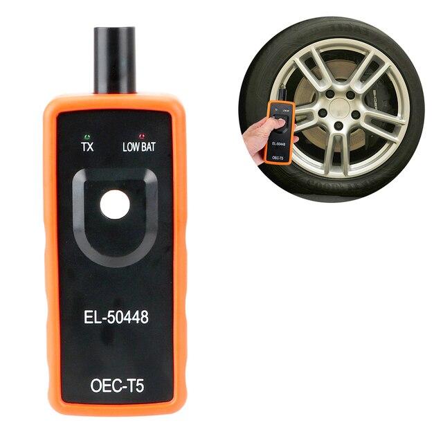 TPMS 리셋 도구 자동 타이어 압력 모니터링 시스템 OEC T5 EL 50448 타이어 Opel/G M G M 시리즈 차량