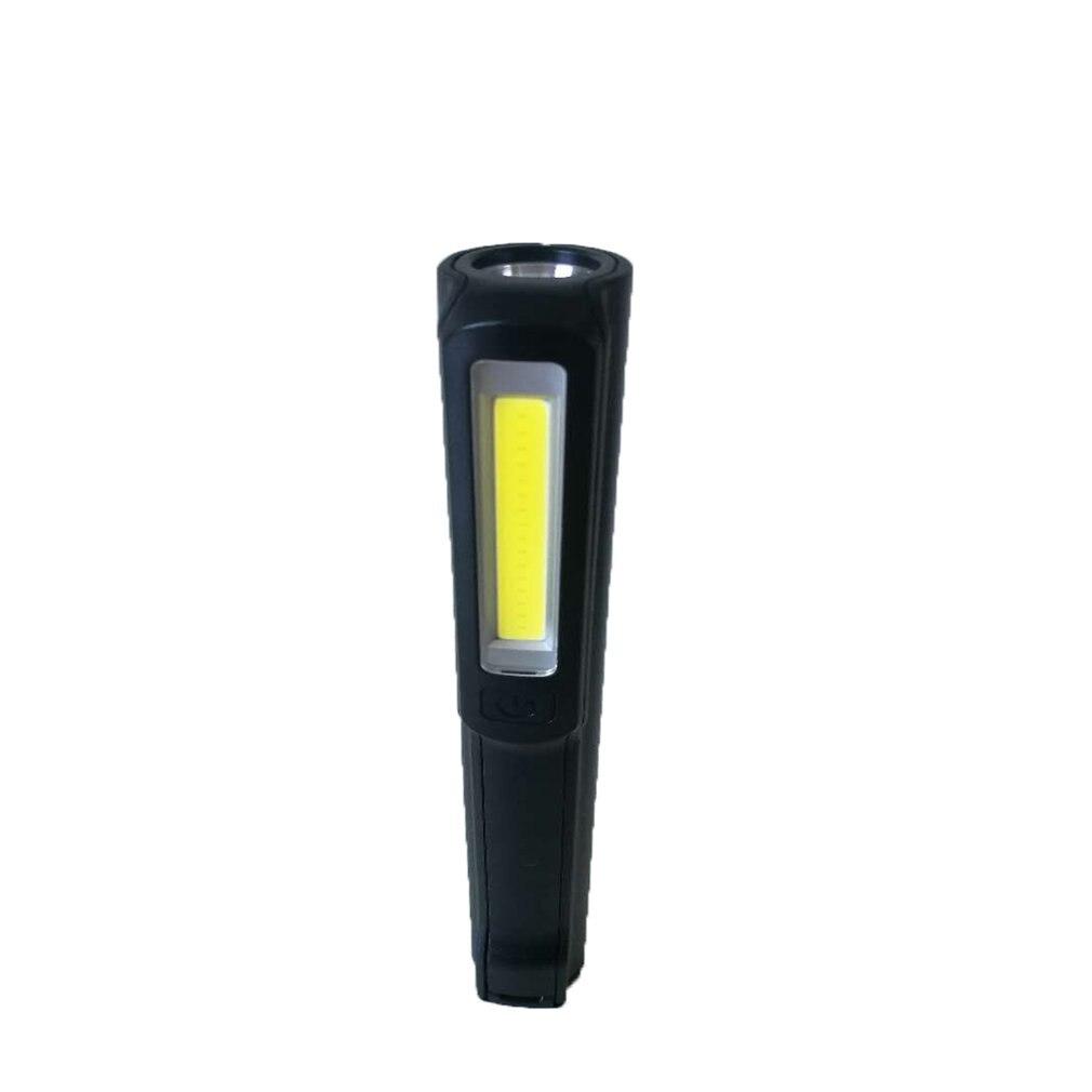 Mini Pen Type COB LED Flashlight Multifunction Torch Light Magnetic Working Inspection Lamp Pocket Light USB Charging