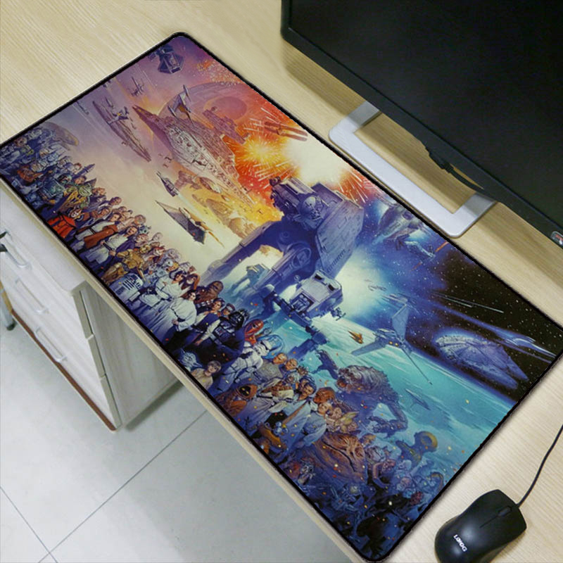 STAR WARS LARGE MOUSEMAT EXTENDED MOUSE PAD GAMING MAT FOR PC,LAPTOPS 700x300mm
