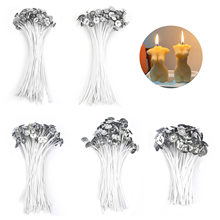 100pcs/Set Candle Wicks Pure Cotton DIY Epoxy Resin Mold Jewelry Making Tools 9/15/20cm Pre-Waxed For Party Home Decoration
